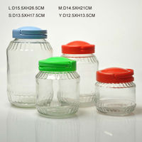Food grade large pickled vegetables glass jar