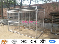 Haotian large backyard galvanized pet safe do it yourself dog kennel