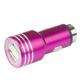 TJ-219 5V 2.4A cell phone car charger portable dual USB car charger
