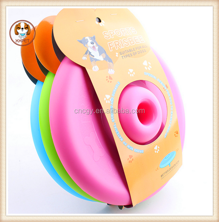 Home Garden Pet Dog Cat Play Treat Training Funny Flying Saucer Frisbee Disc Ourdoor Large Dog Toys