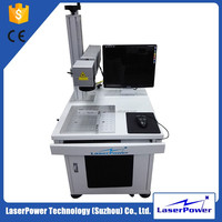 LaserPower Economical New Design Fiber Laser Marking Machine For Spiral Wound Gasket