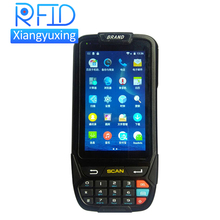 wifi fingerprint wireless handheld pda with android os 1d 2d barcode scanner