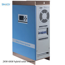 SNADI manufacturer high efficiency wall-mounted 3kw 48v hybrid solar inverter