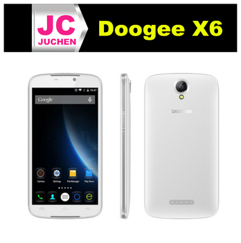 Fashion and elegant5.5 inch HD screen doogee x6 smart phone with 1280 x 720 pixels