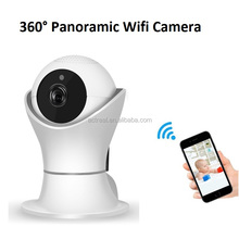 Newest Cheap 3D Navigation Network Mini 1080P 360 Wifi Camera IP with Two-way Audio Motion Detection Night Vision Camera