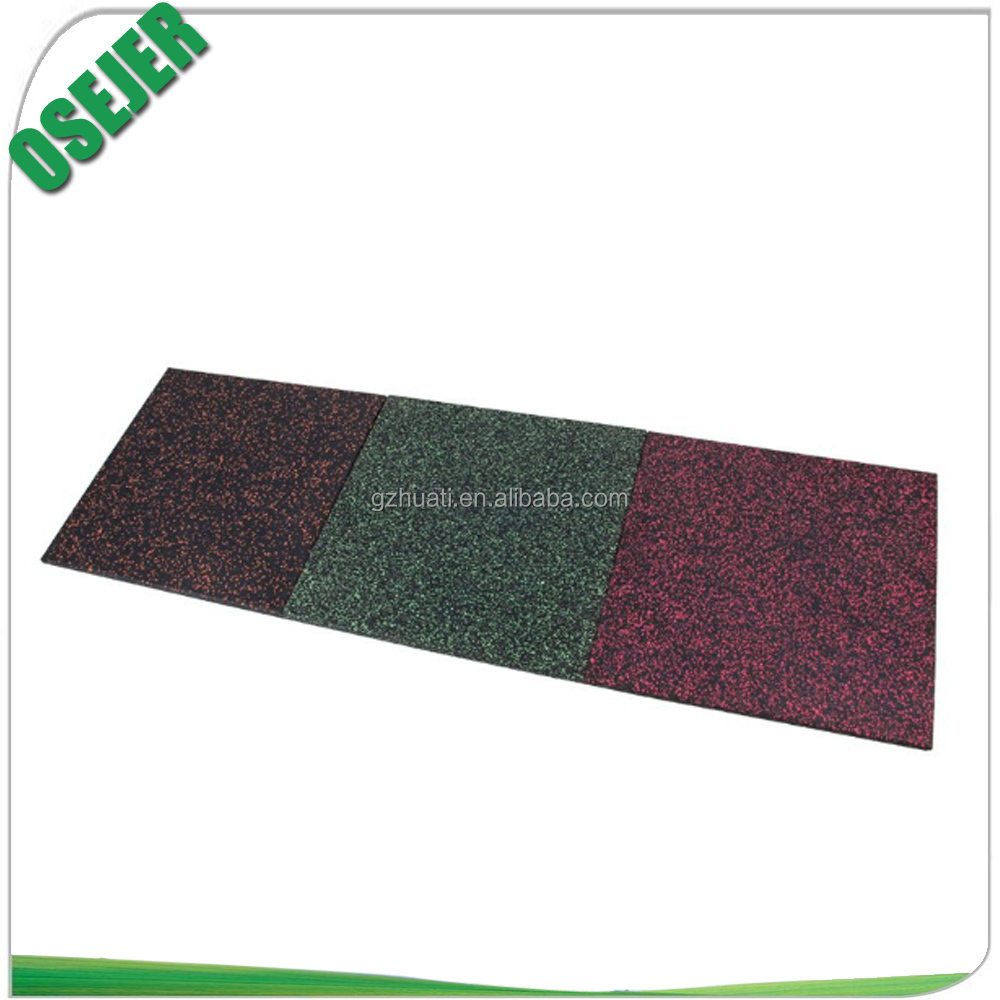 Factory Price High Quality Rubber Floor Group Mat For Finess Gym