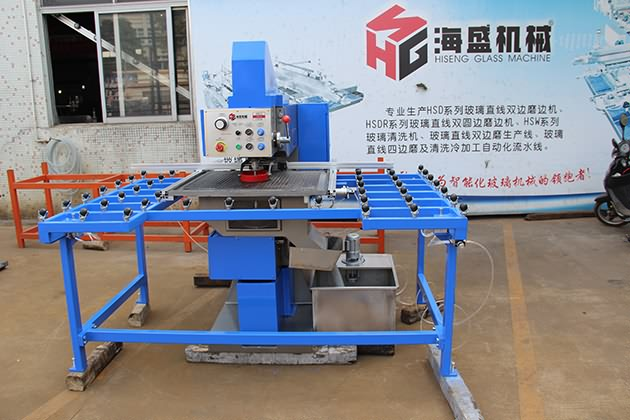 Horizontal Double Head Glass Drilling Machine