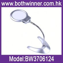Led headlamp magnifier ,h0tM3 led lighted 2x magnifier with helping hands for sale