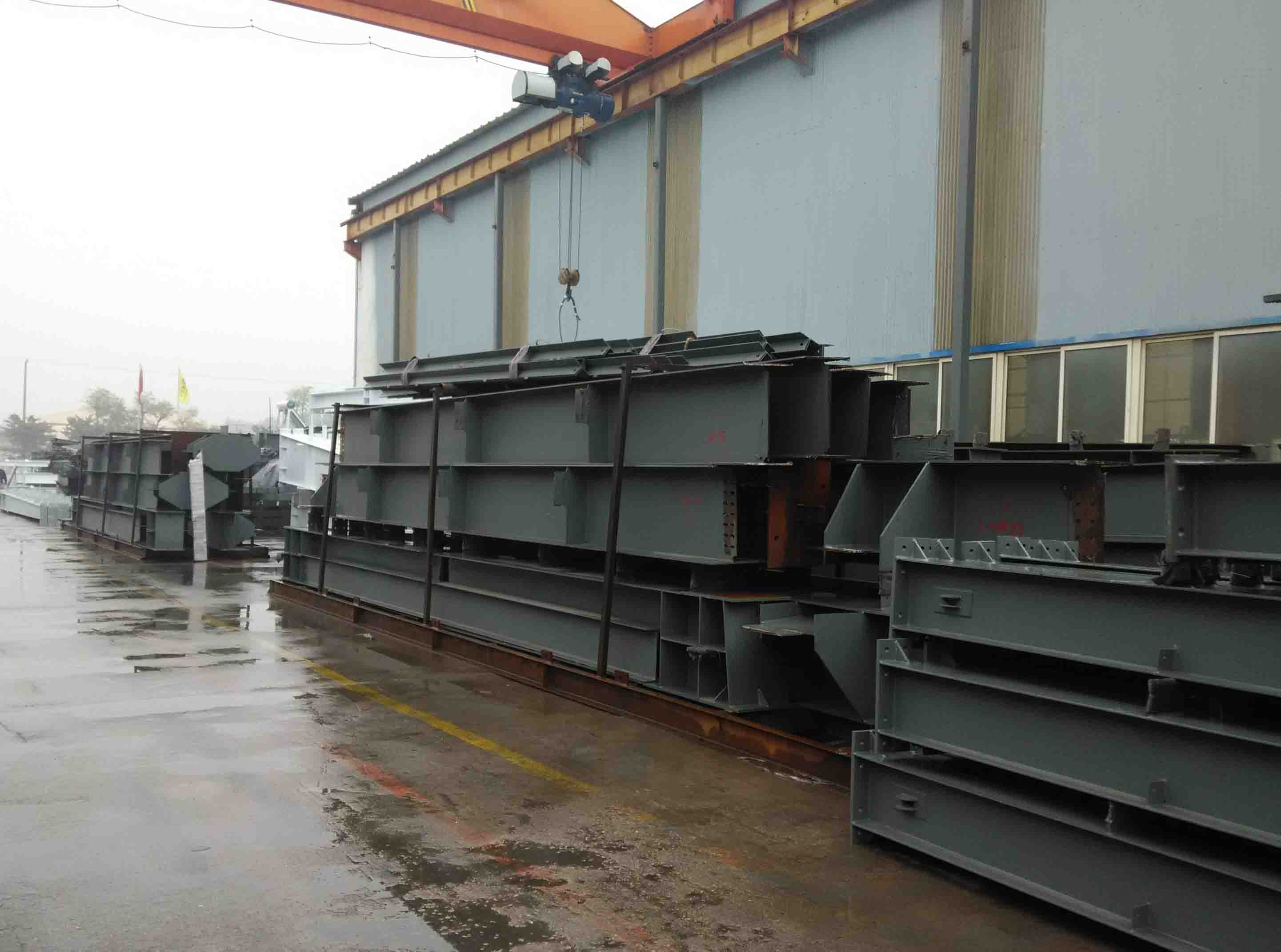 Packaging-H Section Steel