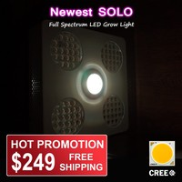 Daisy Chain hydroponic panel grow light led 300 watt with Super Bloom