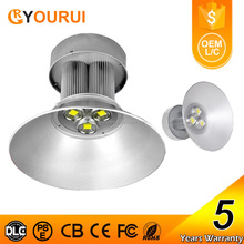 Indoor Pure White meanwell cob 200w led high bay light for warehouse