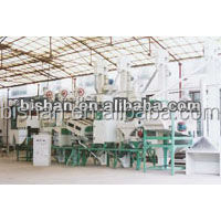 30-40T automatic completed set combined rice mill machinery