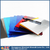 One-way Two-way 3mm Colored Mirror Sheet Glass