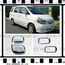 Chrome Door Mirror Cover For Nissan SERENA 01-04, Auto Accessories