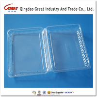 Wholesale Clear Plastic Conatiner Fruit Packing Tray
