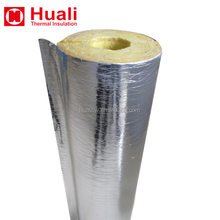 Hot steam pipeline insulation fireproof glass wool pipe/tube insulation industrial pipe cover insulation