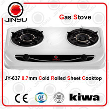 sales hot 2 burner 0.7mm stainless steel cooktop kitchen appliance gas stove/gas cooker