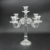 cheap wedding crystal candelabra/candle holder 5 arms crystal candelabra/crystals table wedding centerpieces