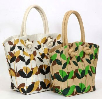 High Quality Fancy Jute handbags