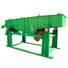China high sieving efficiency and high capacity linear rock separator equipment