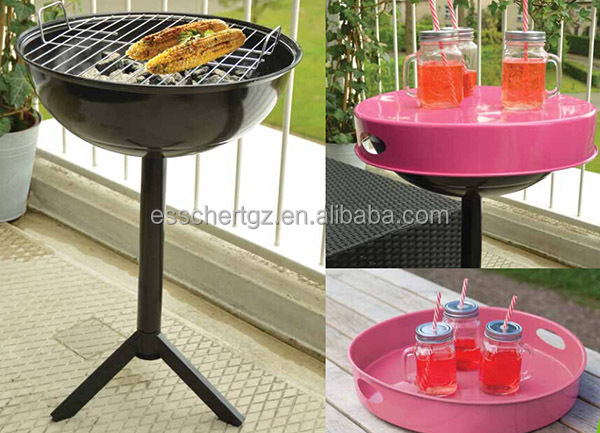 Esschert Design small package and easy assemble outdoor unique charcoal grills