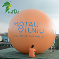 Outdoor Helium Flying Decoration Inflatable Orange Helium Ball Sphere