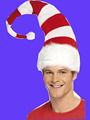 2016 new striped santa Hat