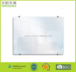 30x40 cm GLB Dry-Erase Tempered Magnetic Glass Board Wall Mounted
