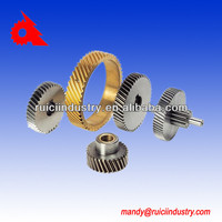 High precision Powder Coating, Stainless Steel Auto Parts Starter Drive Gearing manufacture