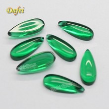 Special Pear Shaped Flat Back Glass Gems