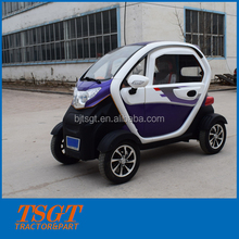 hotel rent for customers use charging battery power adult small model electric car with auto gearbox