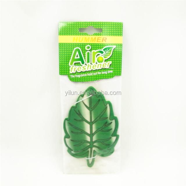 cotton paper magic scented car air freshener