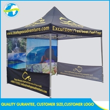 Wholesale 3x3m Fold Display Pop Up Flame Retardant Fireproof Tent Print 10x10