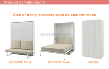 high quality folding sofa wall bed for Gorl Smart-space Furniture,QF154/SF