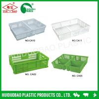 Poultry farm large plastic crates, chicken turnover cage, strong plastic cage