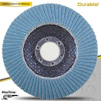 T27 7'' 180x22mm Grit 80 Flap Disc Polisher