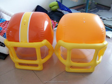 PVC inflatable football helmet
