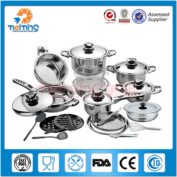 18/10 Stainless Steel Cookware/10pcs Cookware Set/Cookware Stainless Steel