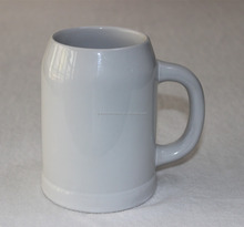 German beer steins sublimation ceramic beer mug plain white blank ceramic mug