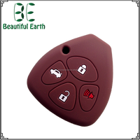 2016 hot best promotion silicone car key Shell for Toyota