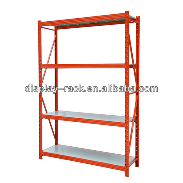 4 layers metal sheet banner bars storage <strong>rack</strong> HSX-4396 stands storage shelf