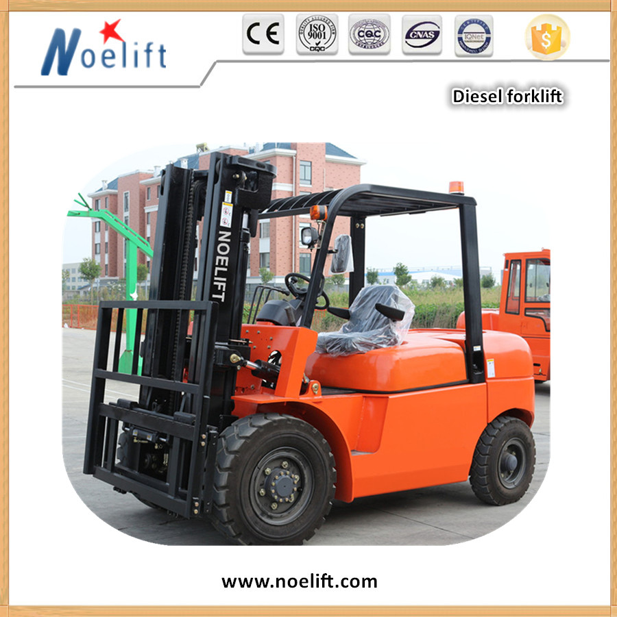 Chinese New four wheel Diesel Forklift 6tons indoors