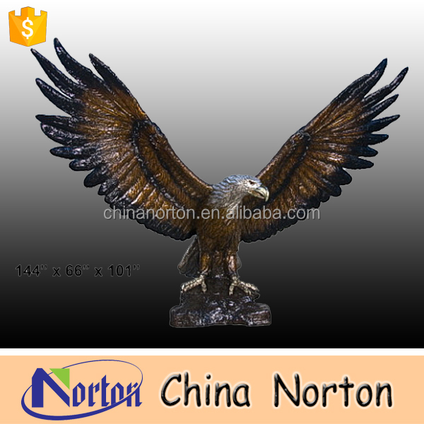 Animal bronze sculptures flying eagle bronze eagle sculpture NT-BSB022