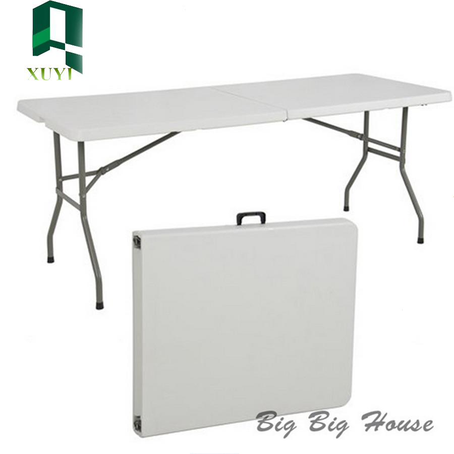 hot selling cheap custom outdoor plastic folding table