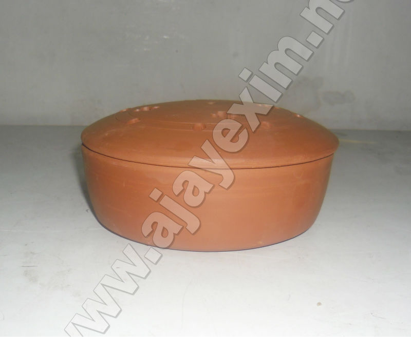 Clay Mosquito Repellent Coil Box