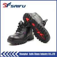 brand name men leather safety shoes