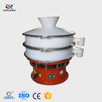 China hot selling Professional Plastic vibratory sieve of polypropylene plastic material