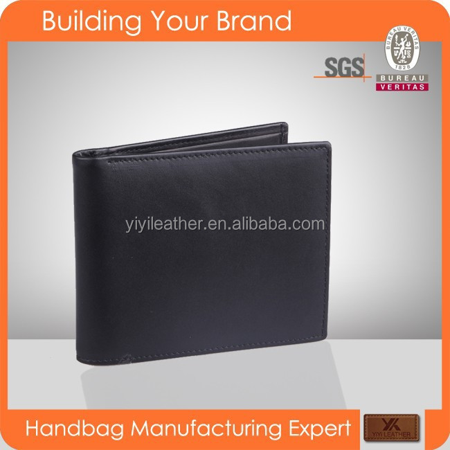 JL116 New arrival 2016 Hot sale high quality genuine leather brand names men's wallet
