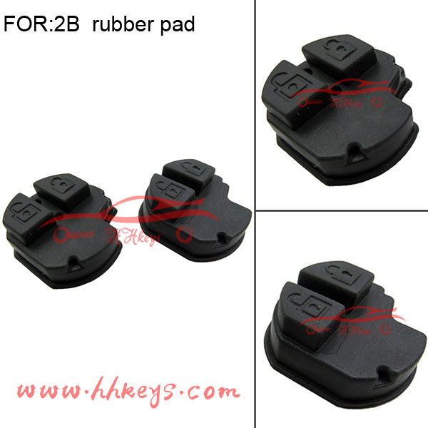 Suzuki Swift remote car key shell replacement 2 buttons rubber pad no inner circurt board part