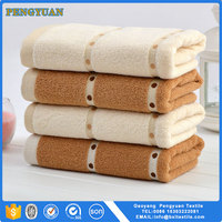 high quality factory 100% cotton seconds hand towel
